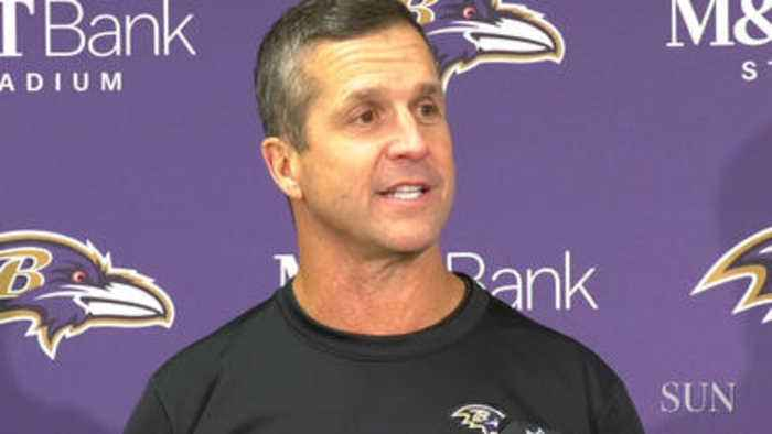 Ravens' John Harbaugh on the play of Willie Snead IV and Mark Andrews