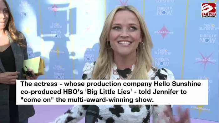 Reese Witherspoon invites Jennifer Aniston to star in Big Little Lies