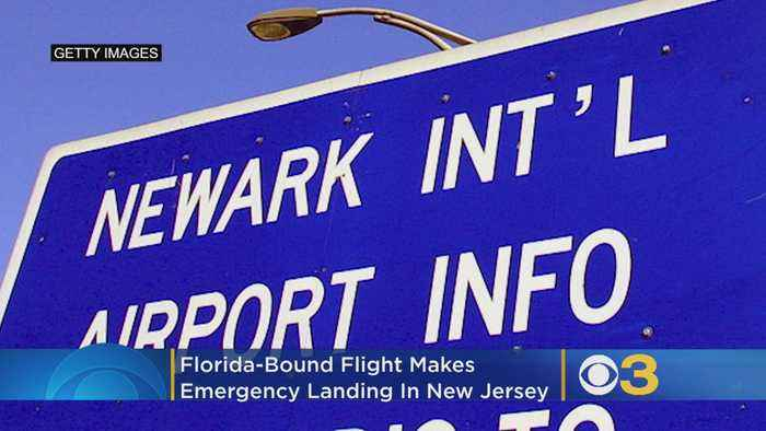 Florida-Bound Flight Makes Emergency Landing In New Jersey