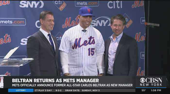 NY Mets Introduce Carlos Beltran As New Manager