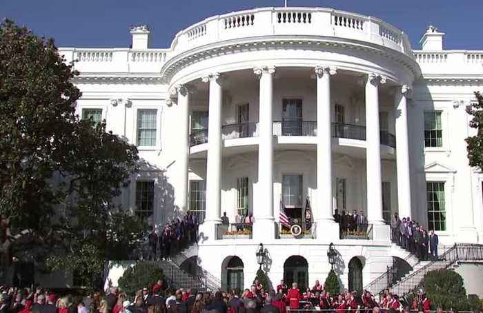 President Trump honors World Series champs at the White House