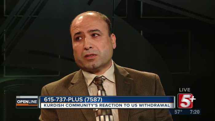 Kurdish Community Reaction to US Troop Withdrawal p2