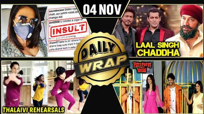 Priyanka INSULTED For Wearing Mask, Deepika In Horror Film, Kangana's Rehearsal Thalaivi|Top 10 News