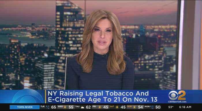 NYS Raising Tobacco Age To 21