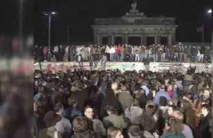 As the 30th anniversary looms, Germans remember the Berlin Wall's surprising fall