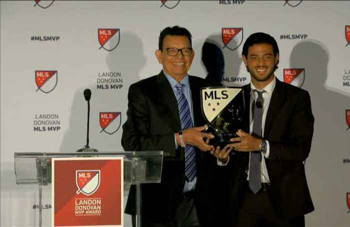 Mexico's Vela named MLS MVP after record-breaking season with LAFC