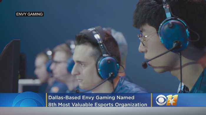Dallas-Based Envy Gaming Named 8th Most Valuable Esports Organization In The World By Forbes