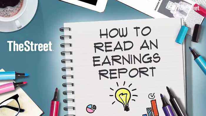 Here's How to Read an Earnings Report Like a Wall Street Investor