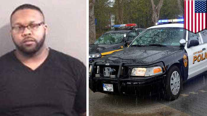 Fake cop arrested by real cops after chasing suspect vehicle