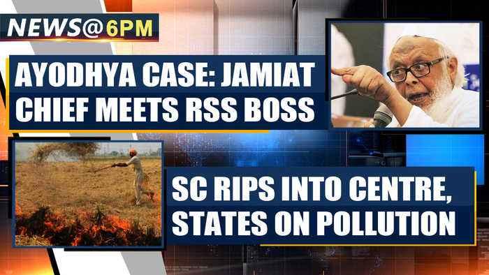NEWS AT 6 PM, NOVEMBER 6th | OneIndia News