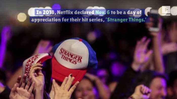 Fans Celebrate 'Stranger Things' Day