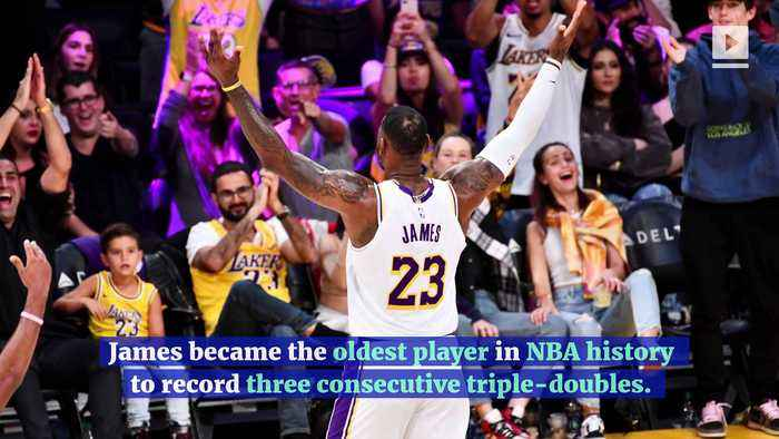 LeBron James Responds to Haters After Third Straight Triple-Double