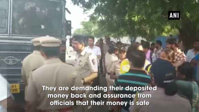 PMC Bank Scam Depositors stage protest outside RBI several detained by police