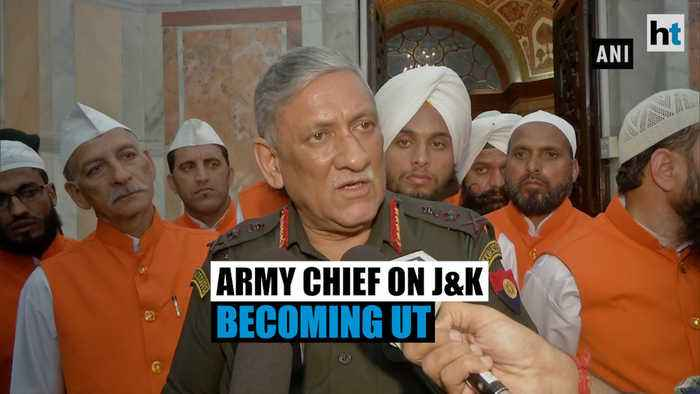'Monitoring activities in J&K will now be easier': Army chief