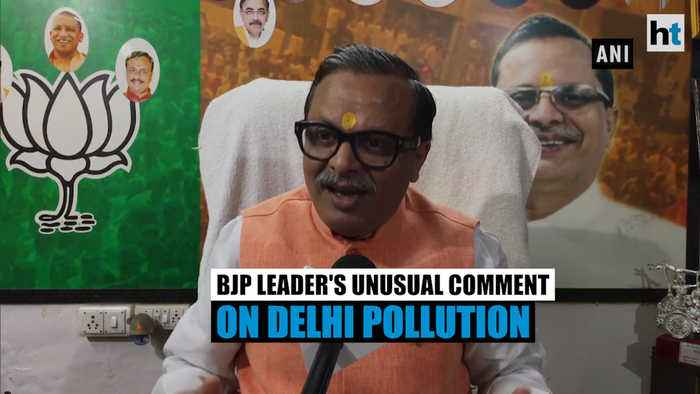 'Pakistan may have released poisonous air into India': BJP leader on pollution