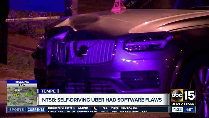 NTSB: Self-driving Uber involved in deadly crash had software flaws