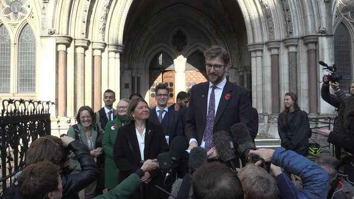 Extinction Rebellion 'vindicated' by High Court victory