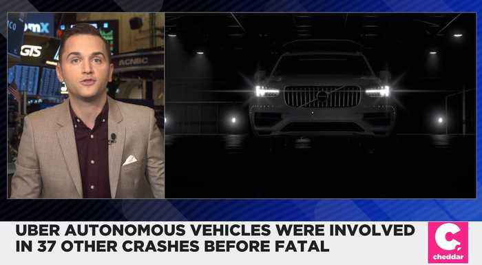 Uber Self-Driving Cars Were Involved in 37 Crashes Before Fatal Incident