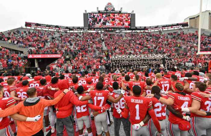 Ohio State Tops First College Football Playoff Ranking