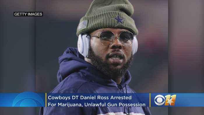 Cowboys DT Daniel Ross Arrested For Marijuana, Unlawful Gun Possession In Frisco