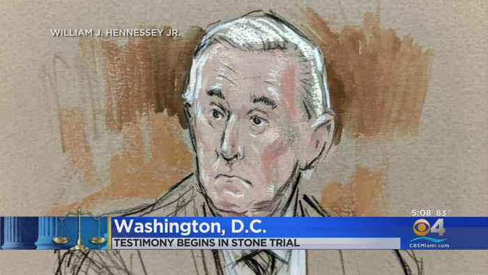 Testimony Begins In Roger Stone Trial