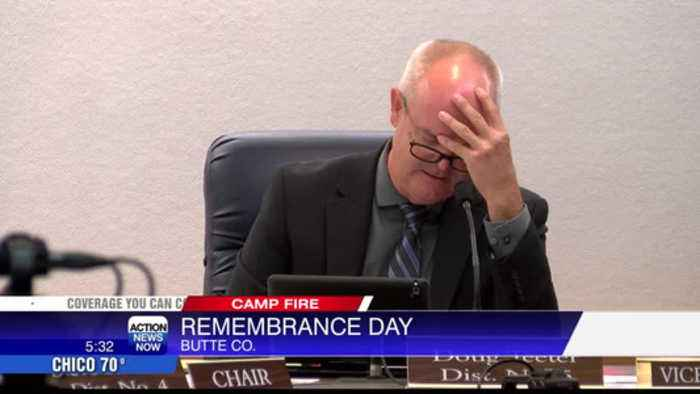 The Butte County Board of Supervisors designated November 8th as Camp Fire Remembrance Day.