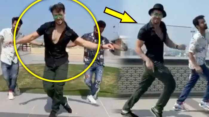 Tiger Shroff's TRIBUTE To His IDOL Hrithik Roshan On Ghungroo Song From WAR | Le Gayi Le Gayi