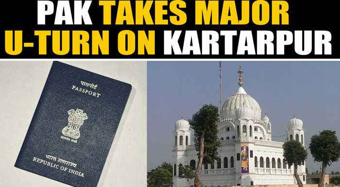 Pakistan army says Indian sikh pilgrims will require passport to visit Kartarpur | OneIndia News