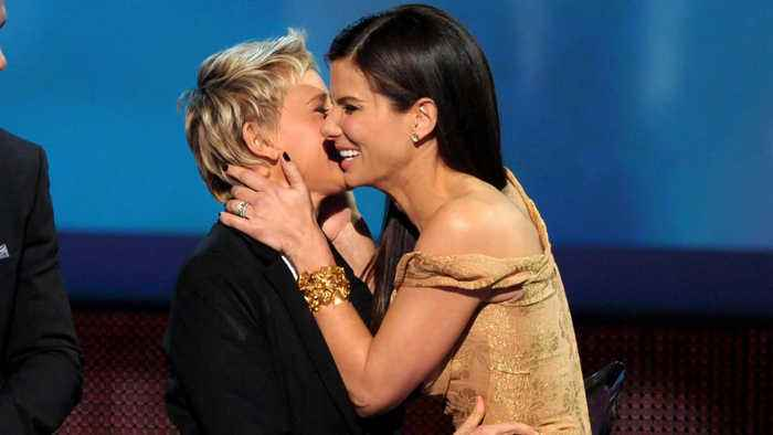 Ellen DeGeneres and Sandra Bullock team up to fight bogus beauty claims
