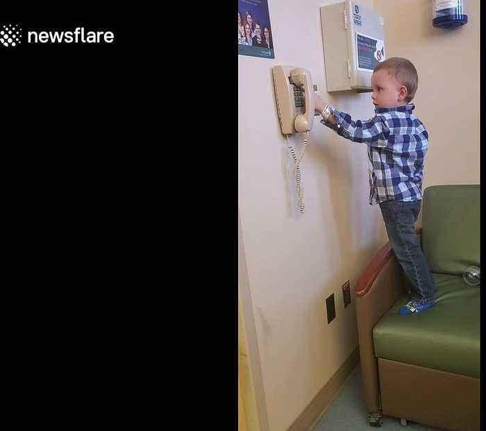 Little boy battling leukemia needs Spider-Man to pick up the phone