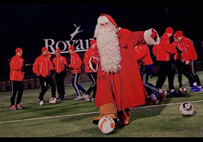 FC Santa Claus, The world's favourite Christmas Team | Oddballs