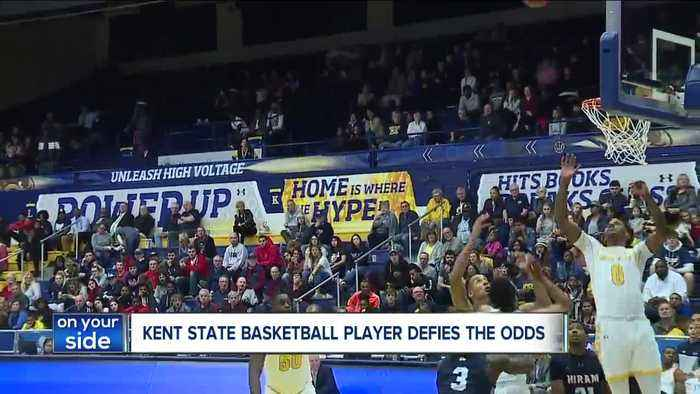 Kent State Basketball player with autism makes history