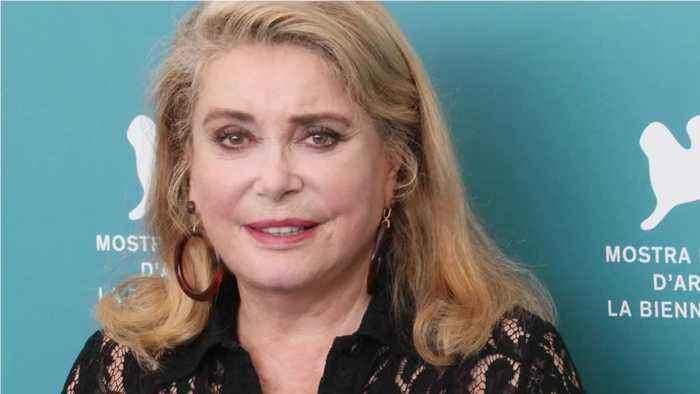 French Actress Deneuve Hospitalized After Stroke