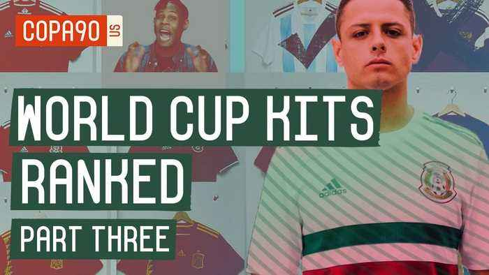 World Cup Kits Ranked: What Is The Best Kit at World Cup 2018? | Part 3