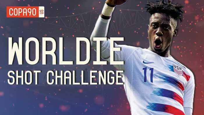 Can PSG x USMNT Star Tim Weah Recreate His Father's Best Goals? | Shot Challenge