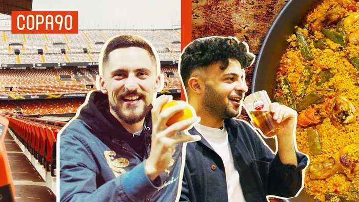 Pints, Paella & Pitchside Scenes - Why Valencia Is The Perfect Away Day | This Is Europa with Amstel