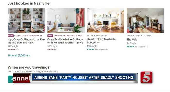 Airbnb bans 'party houses' after California deadly shooting