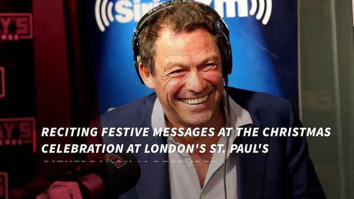 Dominic West to give reading at charity concert