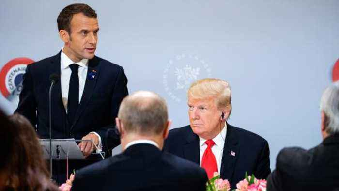 French President Macron Bemoans NATO's 'Brain Death'