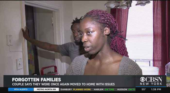 Forgotten Families: Couple Says They Were Moved Again To Home With New Unlivable Issues