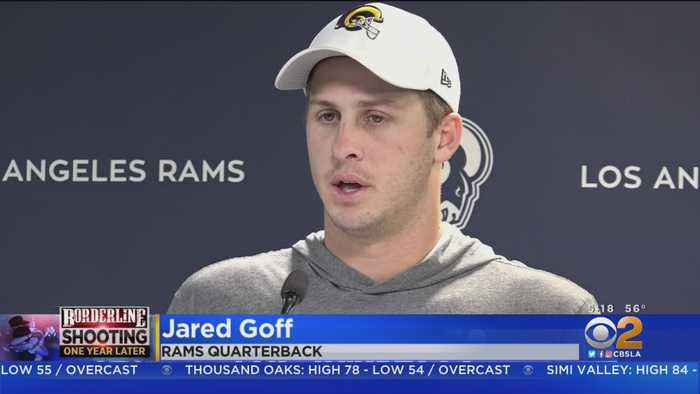 'We're Here To Help': Rams QB Jared Goff Helps Out In Wake Of Borderline Bar Shooting, Woolsey Fire