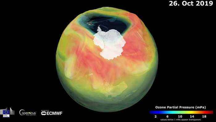 The smallest hole in the ozone layer is closing - but is it good news?