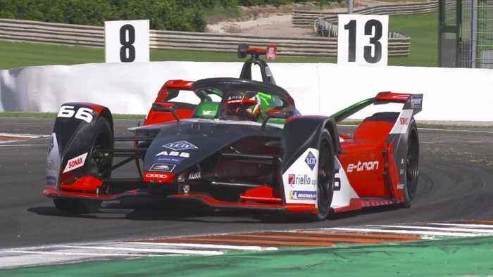 Formula E Season 6 Valencia Test - Audi Sport ABT Schaeffler