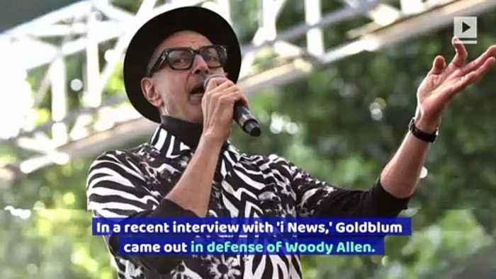 Jeff Goldblum Receives Backlash for Defending Woody Allen