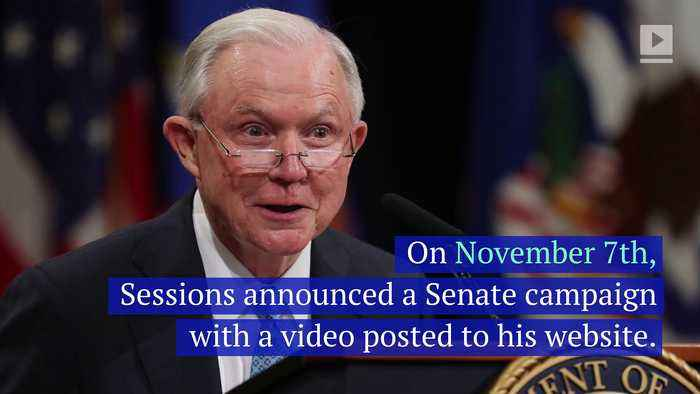 Jeff Sessions Announces He Will Run for His Old Alabama Senate Seat
