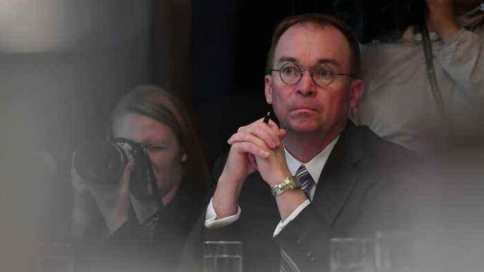 Mick Mulvaney Receives Subpoena For Trump's Impeachment Inquiry