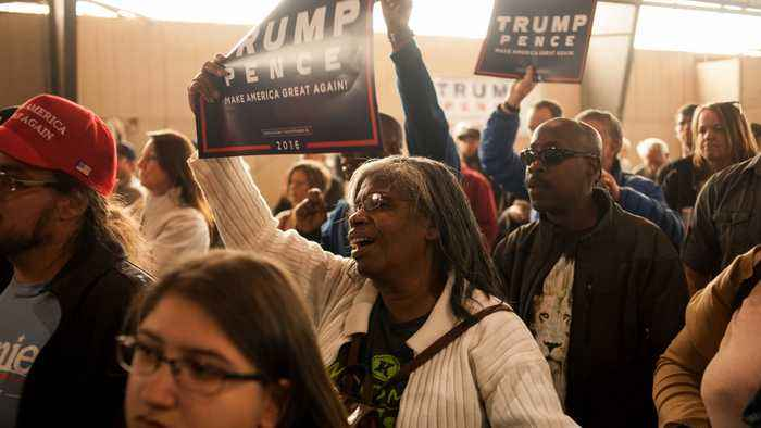 President Trump's Campaign To Launch Black Voter Initiative