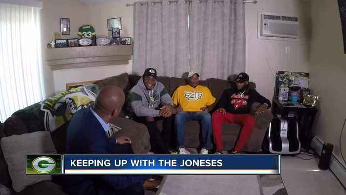 Packers star Aaron Jones says his success starts at home