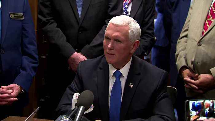 Pence denies he considered invoking 25th Amendment