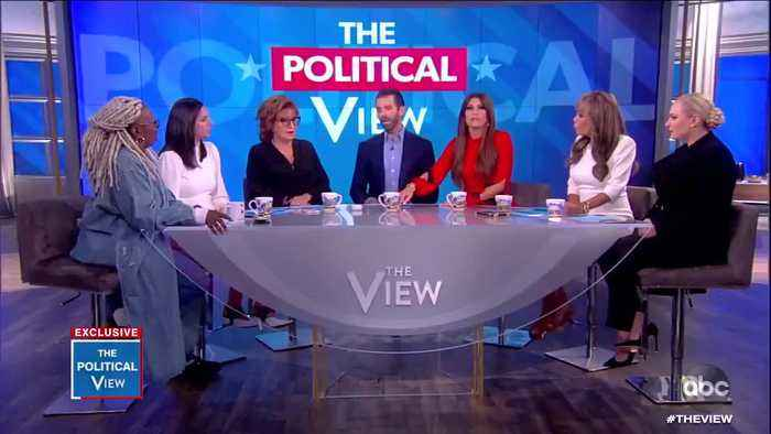 "Kimberly Guilfoyle points out ""The View"" has been gunning for Trump's impeachment"